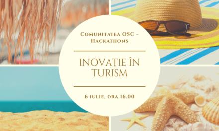 """Comunitatea OSC-Hackathons organizează un nou webinar  ,,Inovație în turism"""""""