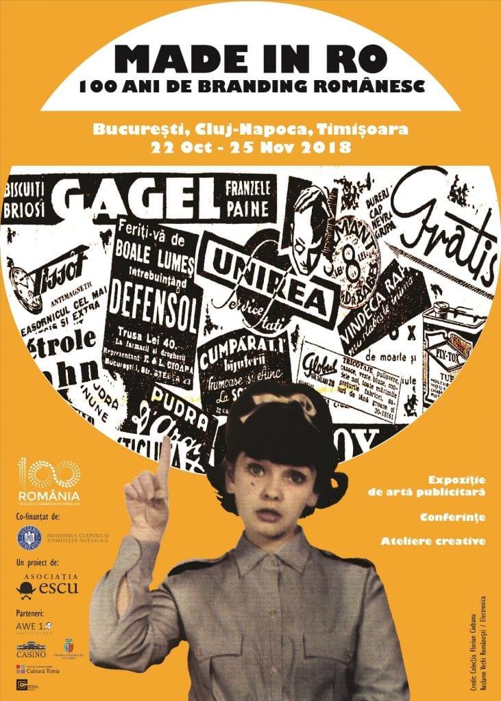 100 de ani de branduri şi reclame româneşti reunite într-o expoziţie la Cluj-Napoca