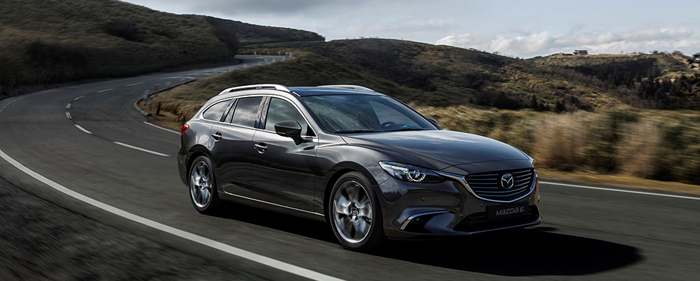 Noua Mazda6 lansează seria de tehnologii SKYACTIV-VEHICLE DYNAMICS