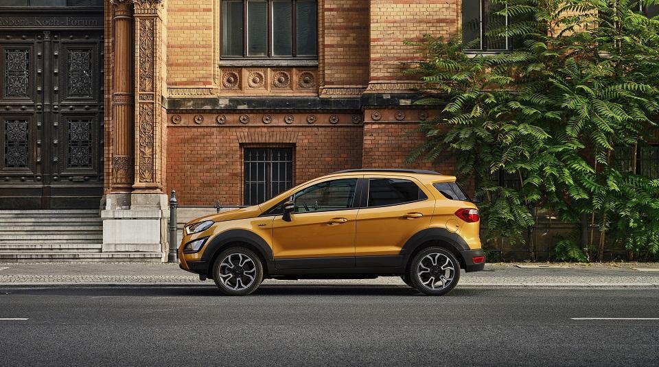 Ford anunță oferta specială de lansare pentru varianta Active a SUV- ului EcoSport