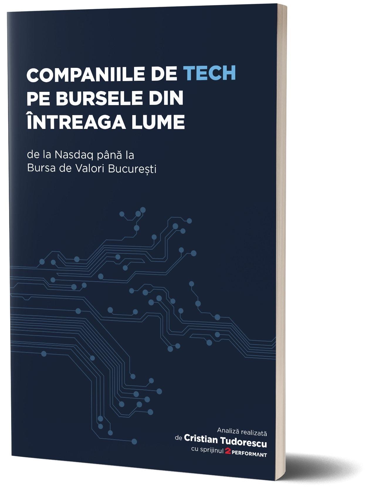 A fost lansată prima analiză din România a evoluţiei companiilor de tech pe bursă