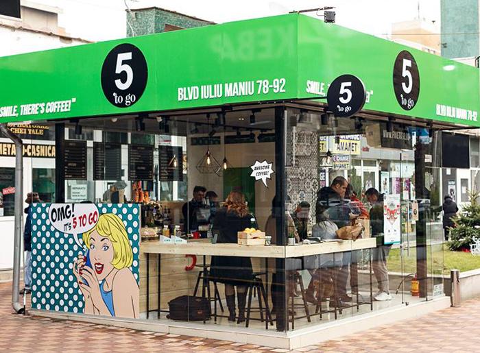 Brandul de cafenele 5 to go a deschis 40 de noi locații în 2018