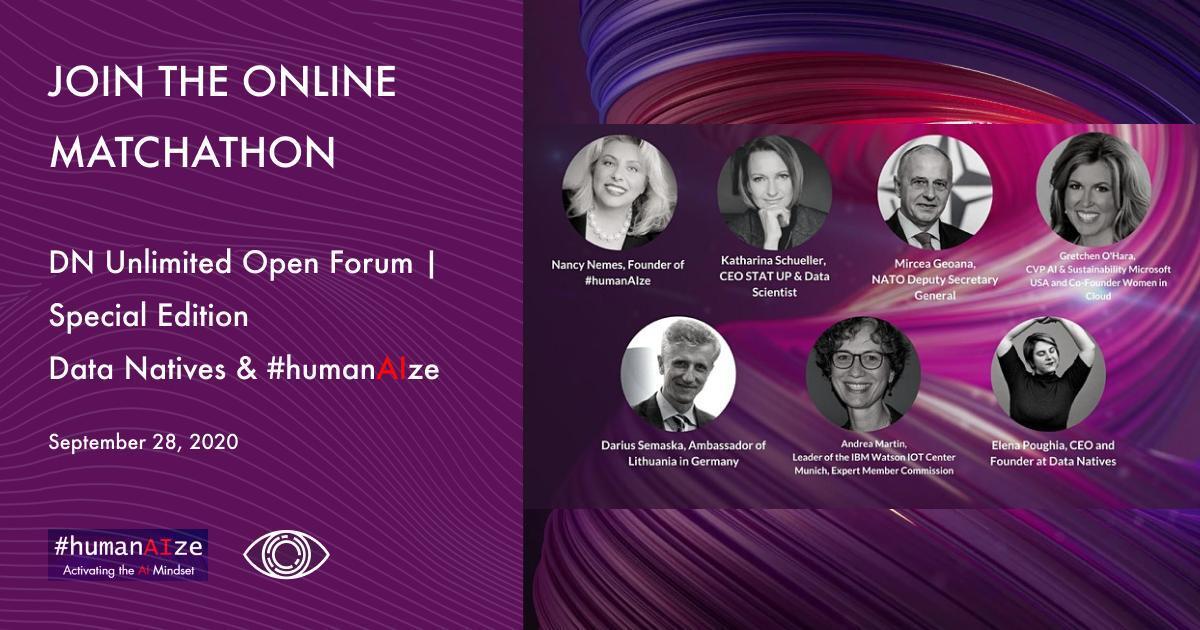 Au început înscrierile la Forumul internațional digital despre Inteligență Artificială organizat de #humanAIze