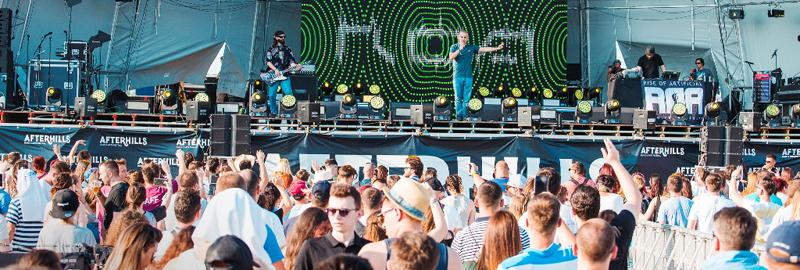 Peste 160.000 de persoane sunt aşteptate la Festivalul AFTERHILLS de la Iaşi