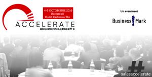 """Evenimentele """"ACCELERATE. Sales Conference"""" au loc în octombrie la București și Cluj-Napoca"""