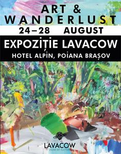 Expoziția casei de licitații Lavacow ajunge în Poiana Brașov