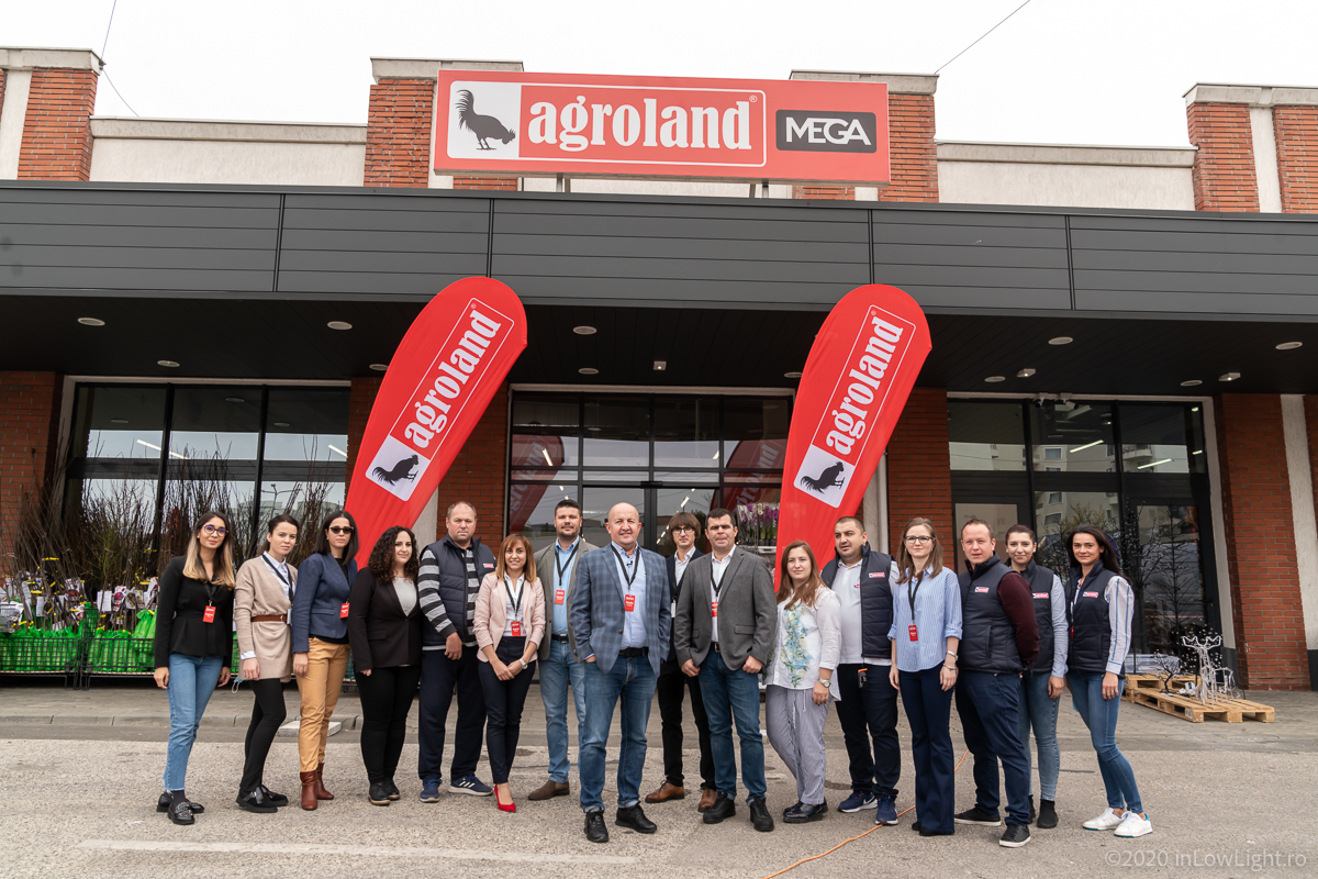 Agroland deschide cel mai mare magazin al rețelei în cadrul proiectului Penny Center Fundeni