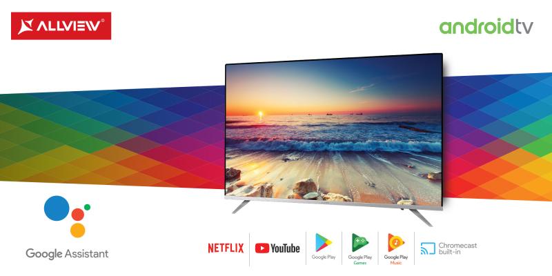 Allview își propune ca în 2019 să devină brandul european cu cel mai are număr de televizoare certificate Google