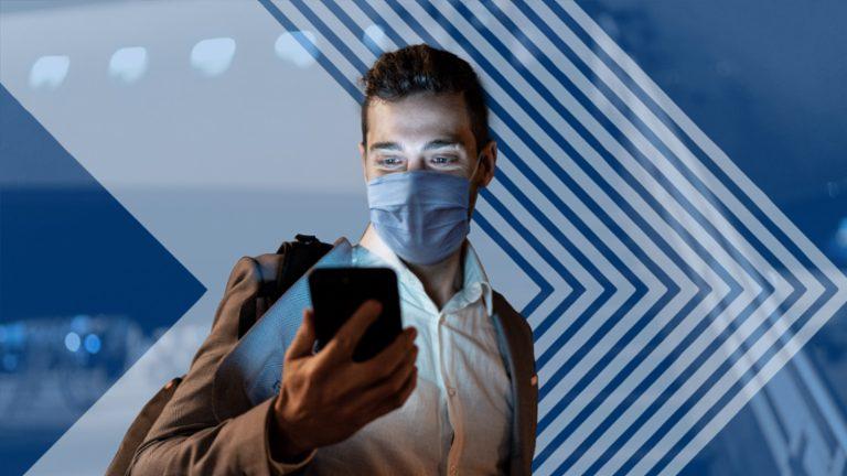 Verificarea digitală a sănătății, complet integrată în sistemele companiilor aeriene sau aeroportuare, accelerează check-inul pasagerilor