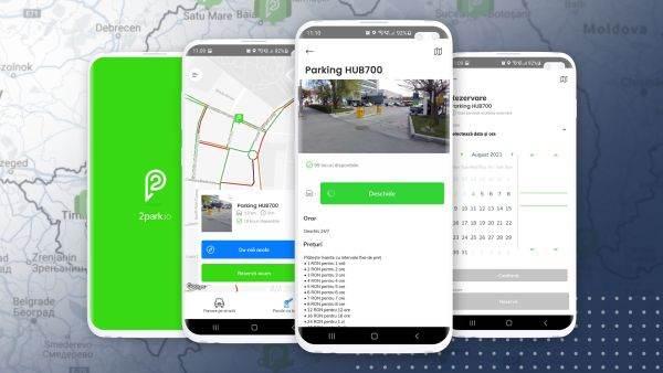 Aplicația 2park a depăşit 20.000 de utilizatori unici în România