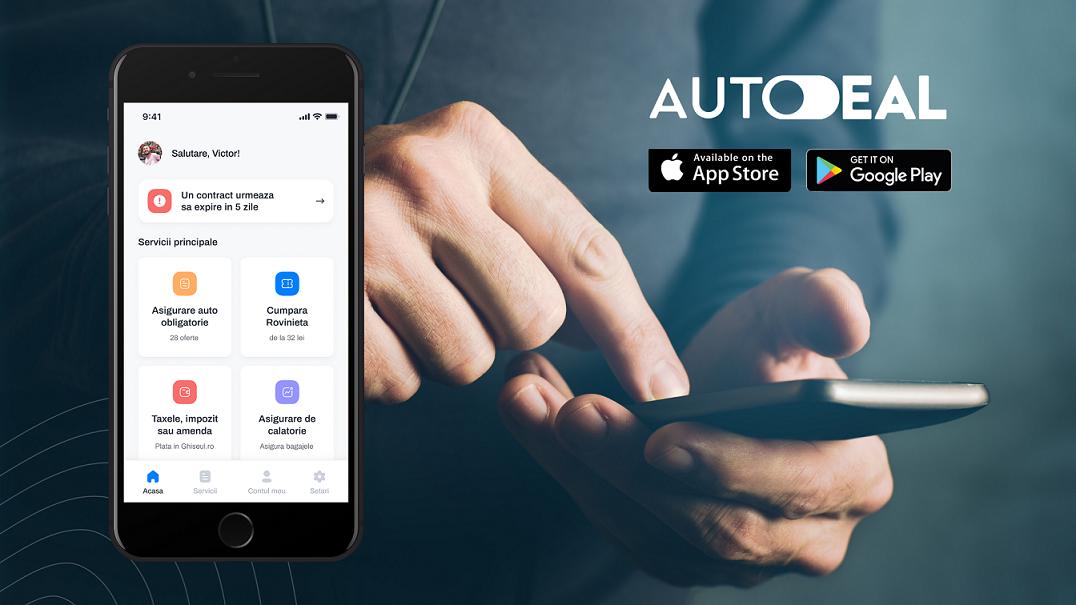 Un start-up din Cluj lansează aplicația Autodeal ce digitalizează toate operațiunile deținătorilor de autoturisme