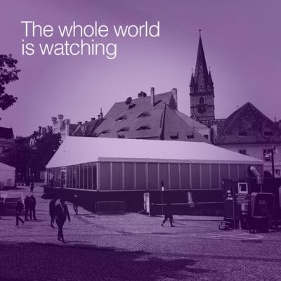 Sibiul a fost pentru o zi locul de intalnire al celor mai puternici oameni din Europa