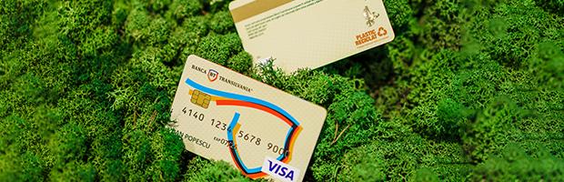 Banca Transilvania lansează cardurile eco-friendly