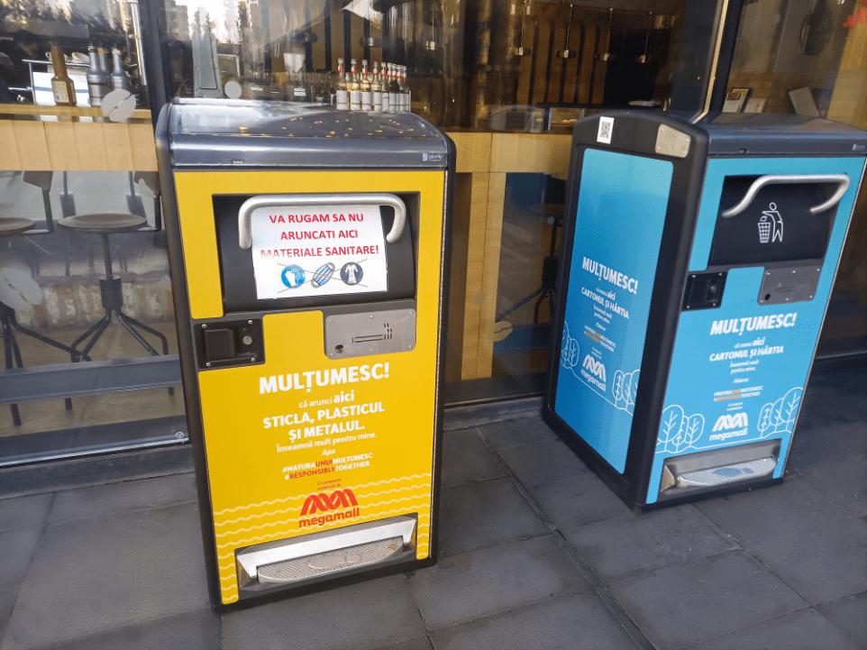 Mega Mall anunță implementarea tehnologiei inteligente de reciclare BigBelly