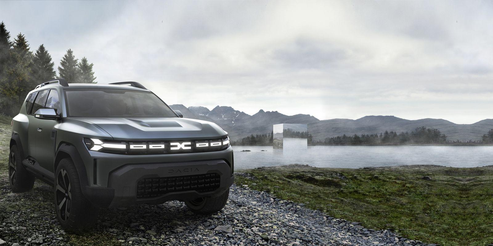 Dacia a prezentat Bigster, conceptul unui model SUV de 4,6 metri lungime