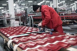 Afacerile producătorului de sisteme pentru acoperişuri Bilka Steel cresc odată cu piaţa imobiliară