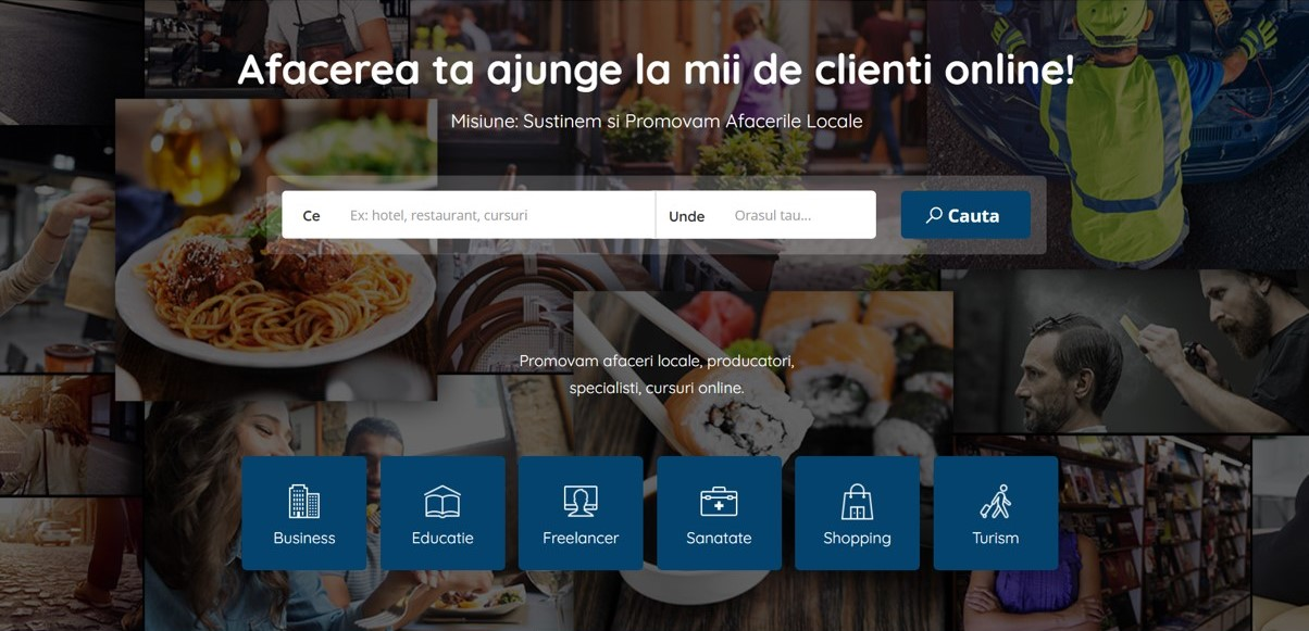 Bizihub, platforma de promovare gratuită pentru afacerile locale