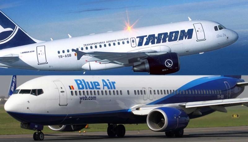 Compania TAROM dezminte informaţiile referitoare la fuzionarea cu Blue Air