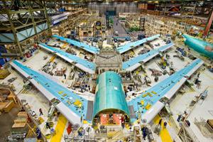 Boeing vinde 300 de avioane în China și își deschide prima fabrică în statul asiatic
