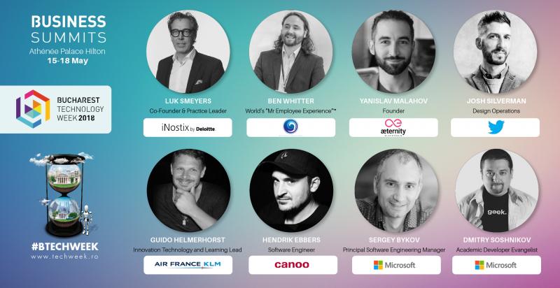 Twitter, Microsoft, iNostix by Deloitte și Air France KLM trimit lideri internaționali la Bucharest Technology Week 2018
