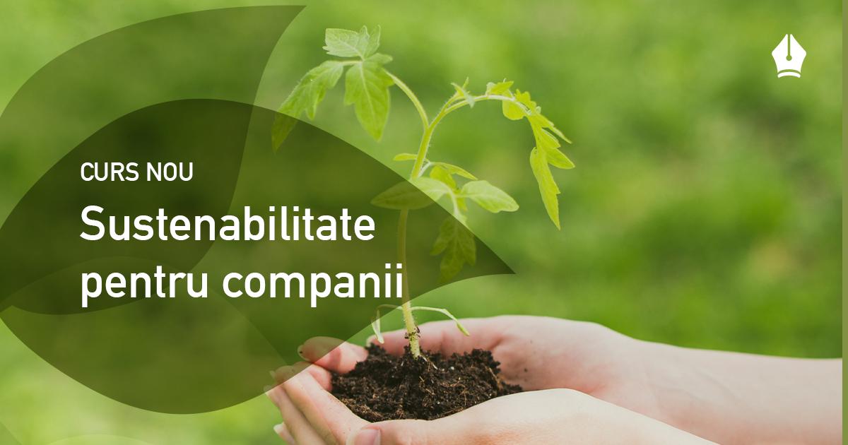 Companiile din România se pot înscrie la cursuri de sustenabilitate