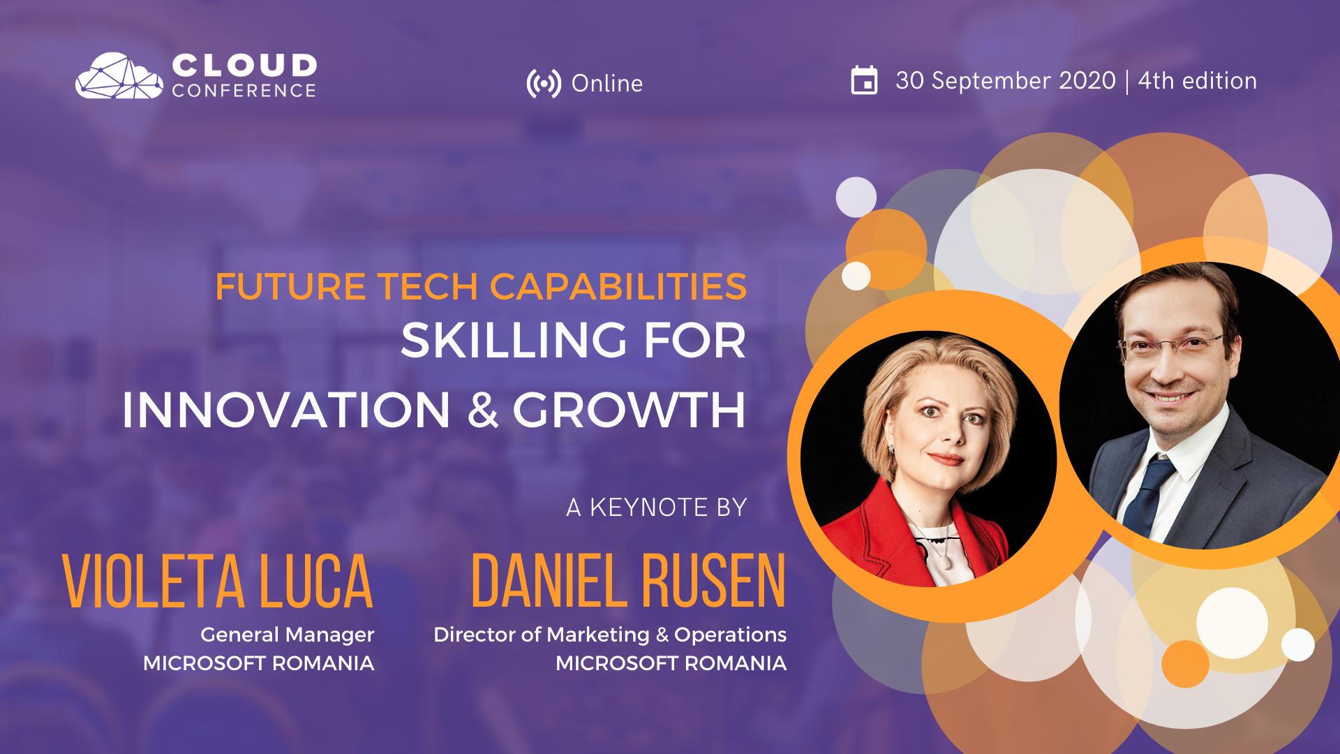 A patra ediție a Conferinței de Cloud aduce în prim plan companii de top din industria IT&C