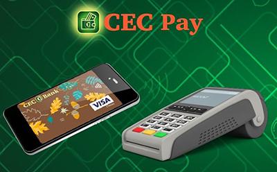CEC Bank lansează CEC Pay, aplicaţia Android prin care clienţii băncii pot plăti contactless