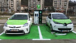 Grupul CEZ a inaugurat prima staţie electrică de încărcare auto din Reşiţa