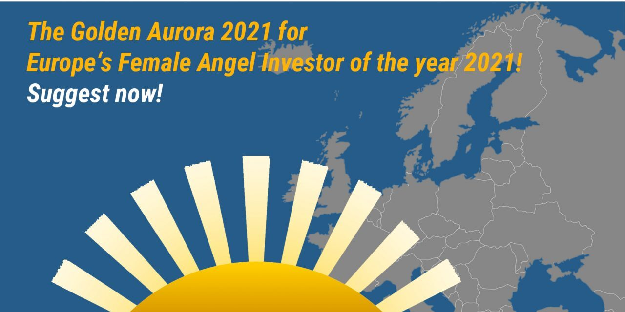 Golden Aurora Award – premiul pentru investitorul angel feminin european al anului 2021