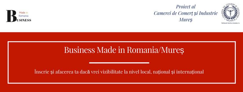 Camera de Comerț și Industrie Mureș construiește platforma de promovare online a afacerilor mureșene