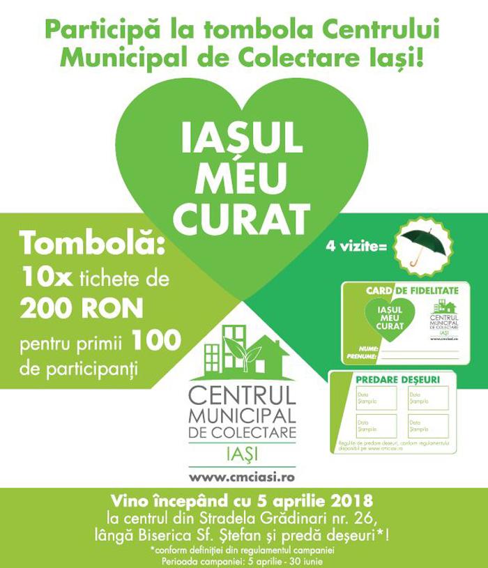 Cardul de fidelitate CMCI, o nouă inițiativă a Centrului Municipal de Colectare Iași (CMCI)