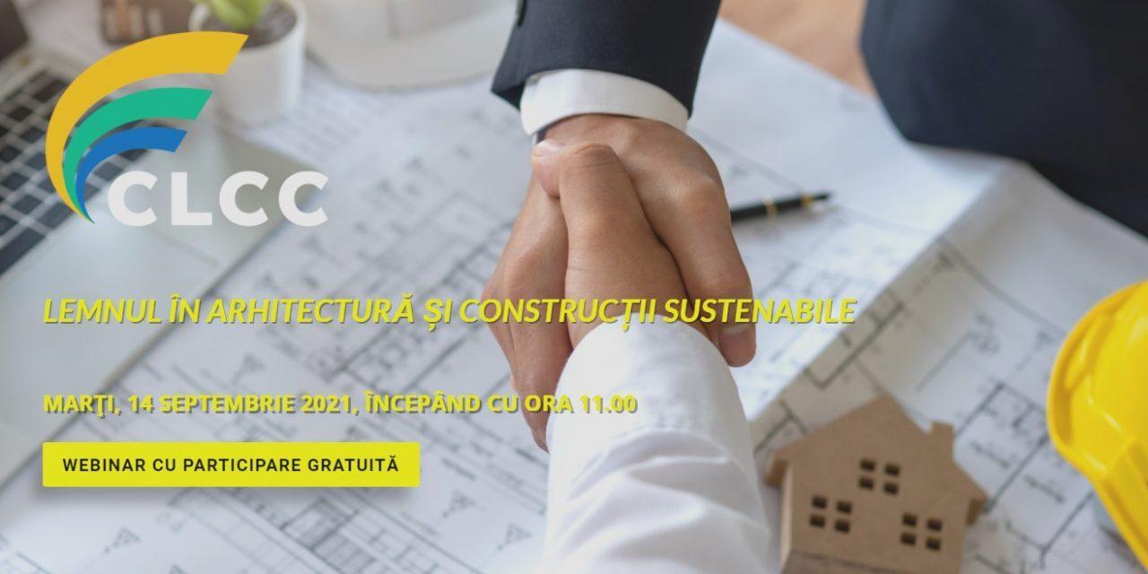 """,,Lemnul în arhitectură și construcții sustenabile""""  –  o nouă întâlnire a Coaliției pentru Libertatea Comerțului și a Comunicării"""
