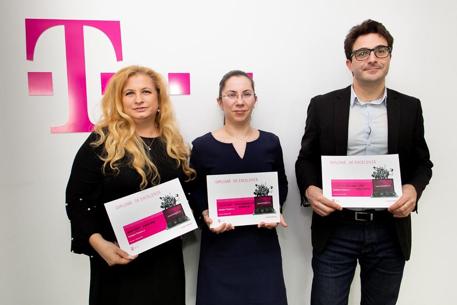 Telekom Romania oferă finanțări în valoare de 60.000 de euro pentru câștigătorii concursului de proiecte Teimplici.ro, ediția 2018