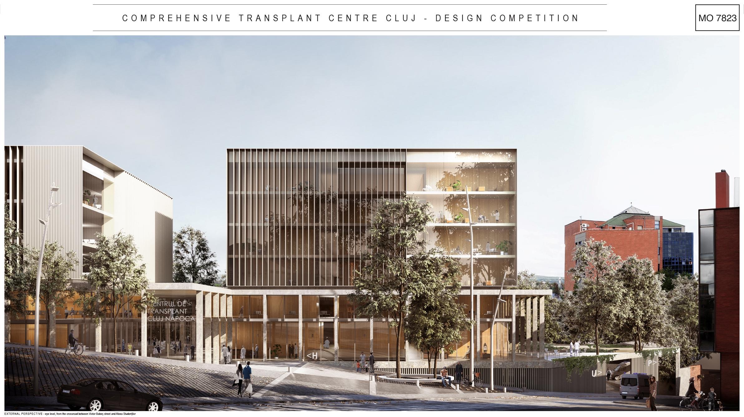 La Cluj-Napoca se construiește primul Centru Integrat de Transplant din România şi din SE Europei