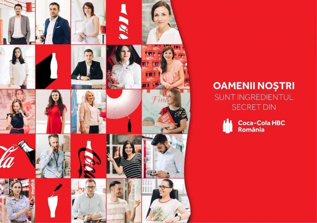 Coca-Cola HBC România lansează prima campanie integrată de employer branding