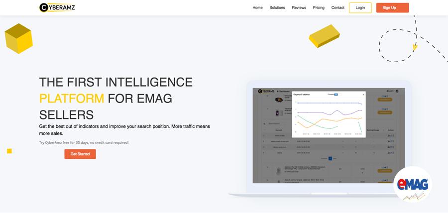 """CyberAmz, aplicația care dă """"boost"""" vânzărilor de pe Amazon sau eMAG"""