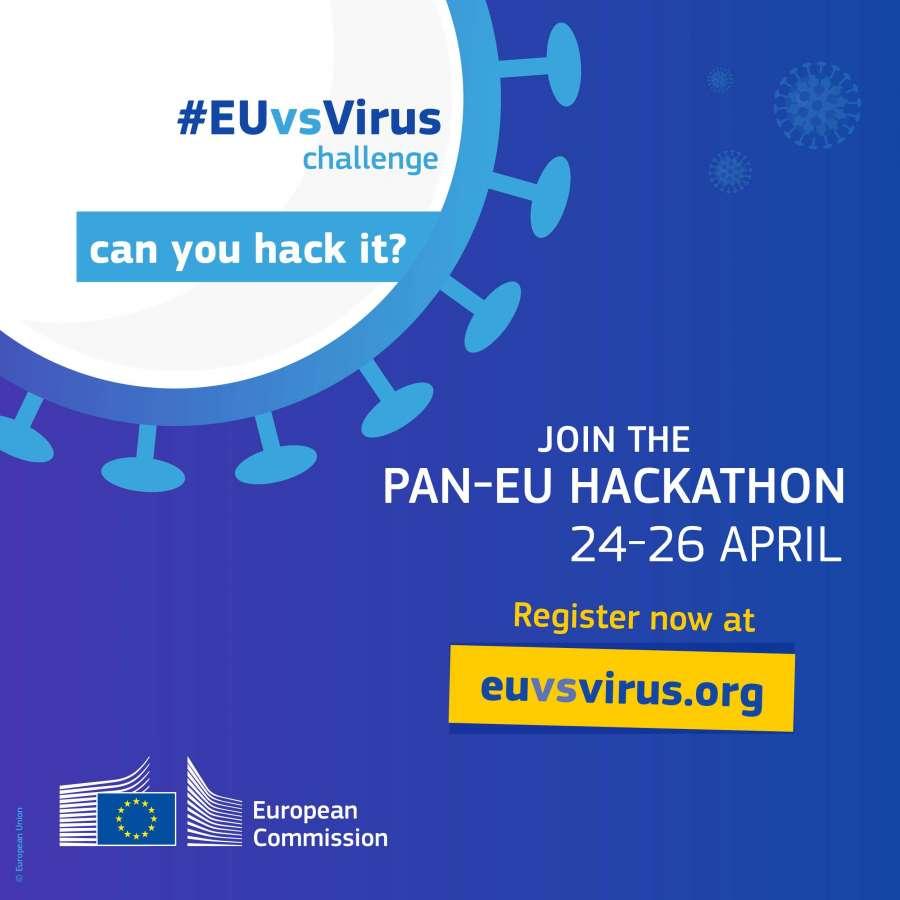 Hackathon pan-european de inovare anti COVID-19, la Cluj-Napoca