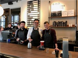 Lanțul de cafenele Narcoffee Roasters a avut afaceri de peste 3 mil. lei în primul an de la lansare