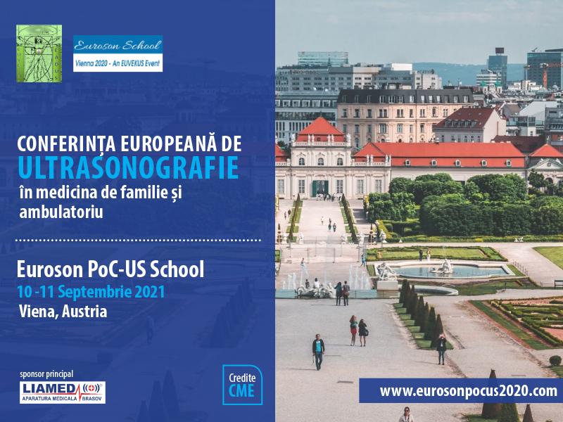 Conferința Europeană de Ultrasonografie în medicina de familie și ambulatoriu