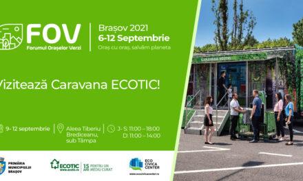 ECOTIC participă la Forumul Orașelor Verzi de la Brașov