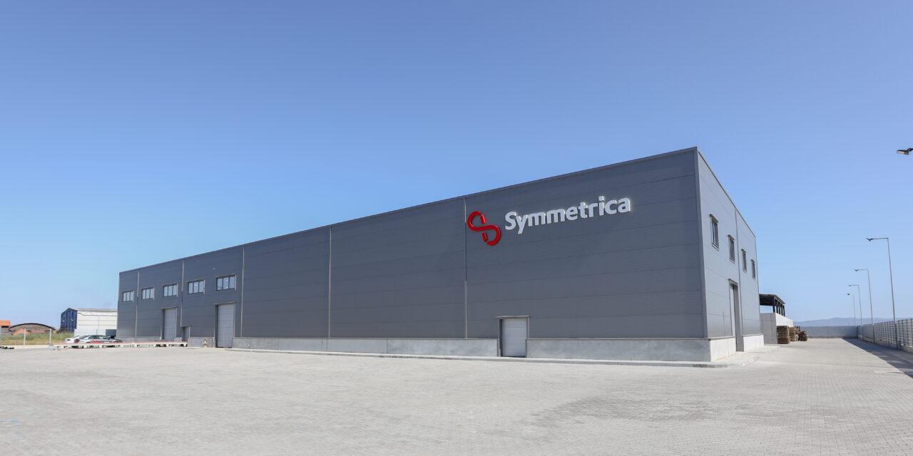 Producătorul de pavele Symmetrica anunță o investiție de 6 milioane de euro în noua fabrică din județul Arad