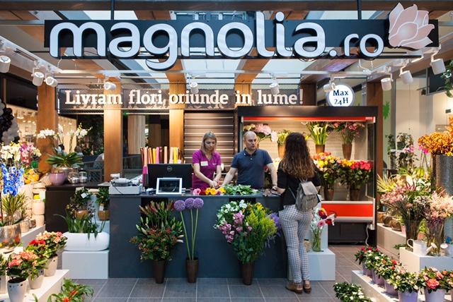 Reţeaua de florării Magnolia estimează depășirea cifrei de afaceri de 10 milioane de euro în acest an