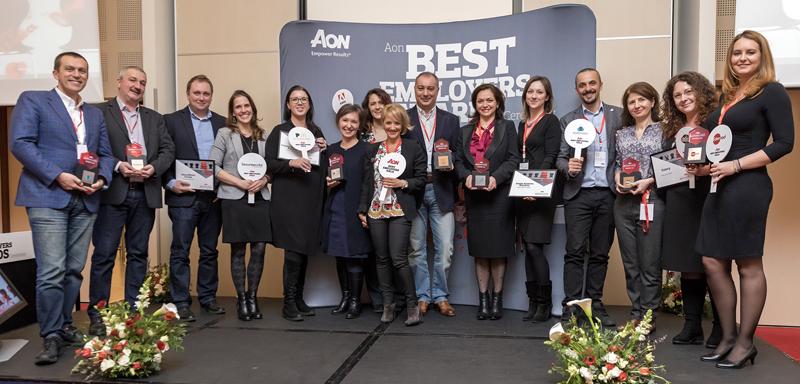 Aon România a premiat cei mai buni angajatori în cadrul Galei Aon Best Employer