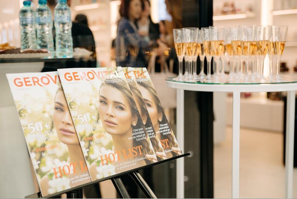 Farmec anunță lansarea revistei proprii – Gerovital Magazine