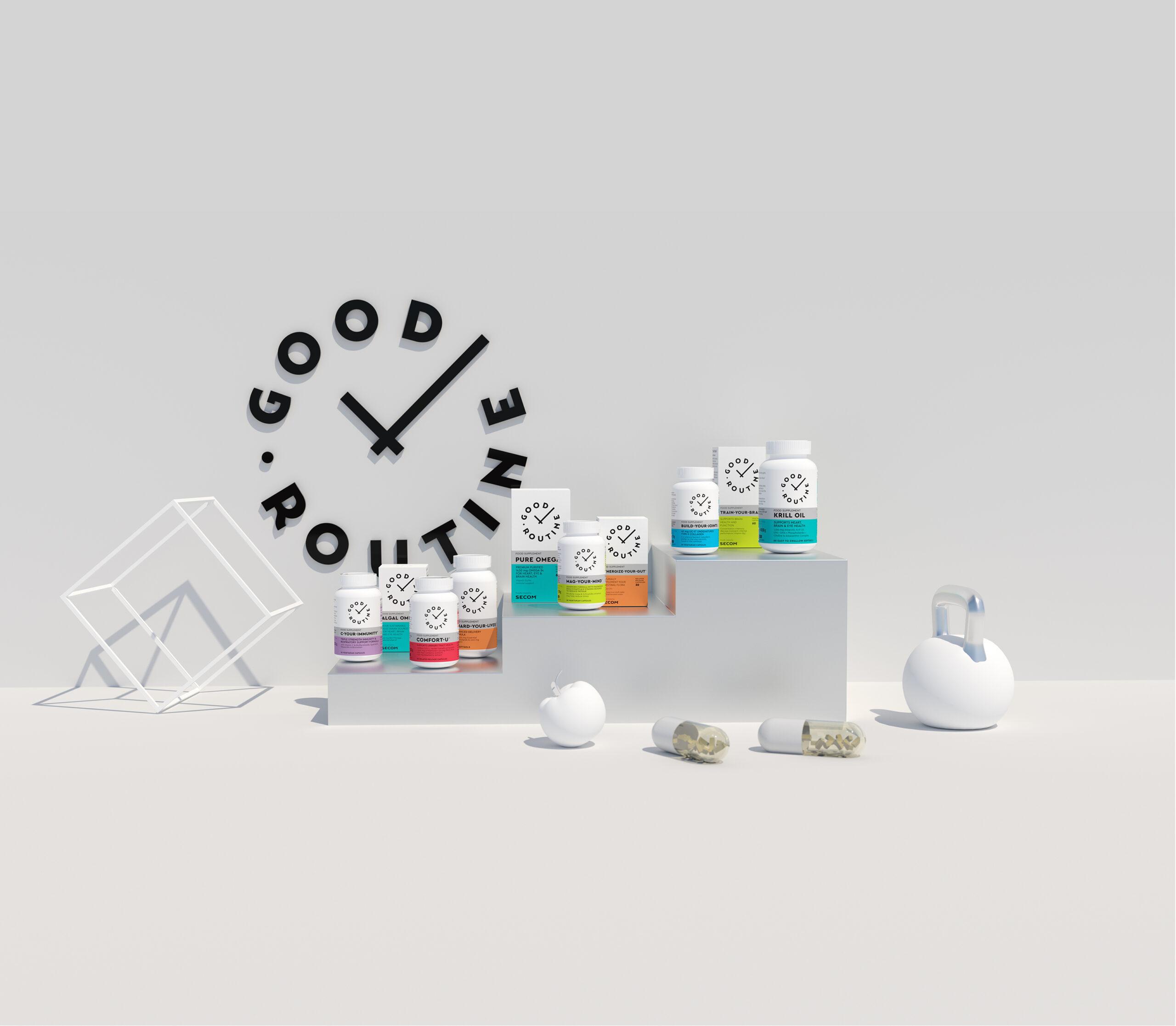 Secom lansează primul brand privat de suplimente alimentare din portofoliu