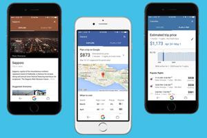 Destinations Google, noul ghid de vacanță la purtător