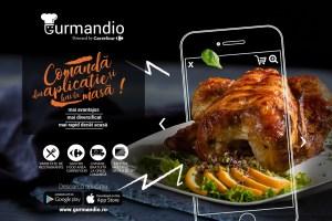Carrefour lansează Gurmandio, prima aplicație pentru comenzi de mâncare dezvoltată de un retailer în România