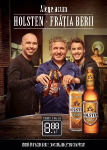 """Holsten lansează """"Frăția Berii"""" împreună cu Gheorghe Hagi"""