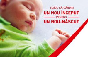 41 de maternităţi din România au fost echipate cu pătuţuri şi lenjerii cu sprijinul P&G şi Profi