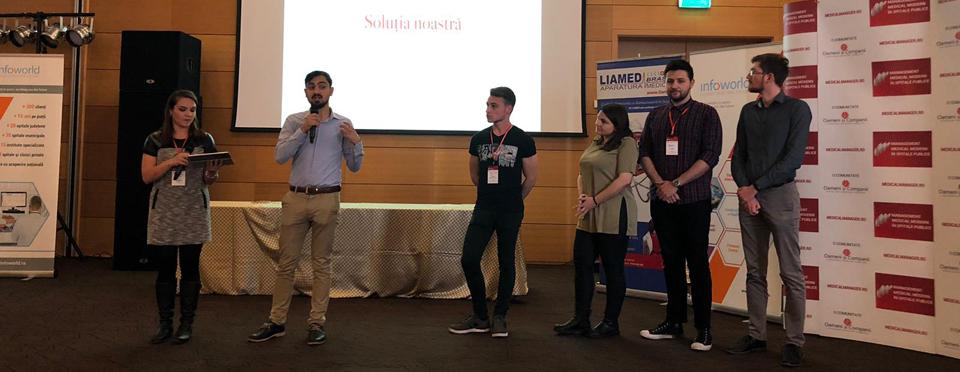 Două aplicații inovatoare au fost realizate de studenți în cadrul H3 – Healthcare in Hospitals Hackathon